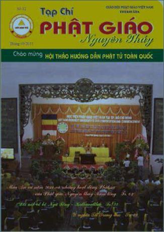 Tạp chí Phật giáo Nguyên Thủy số 12