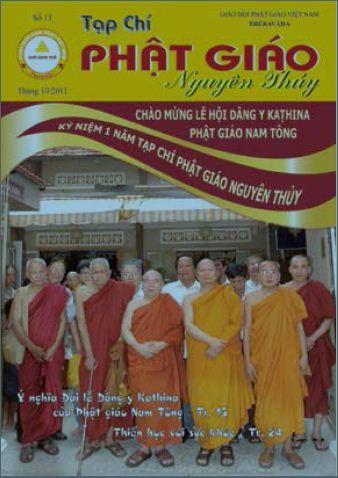 Tạp chí Phật giáo Nguyên Thủy số 13