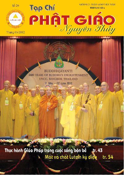 Tạp chí Phật giáo Nguyên Thủy số 20