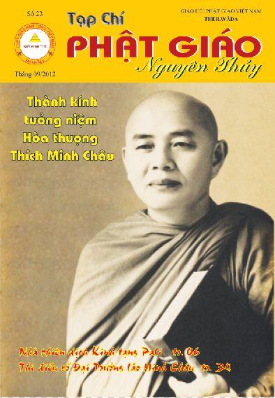 Tạp chí Phật giáo Nguyên Thủy số 23