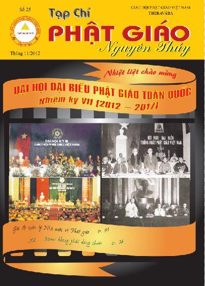 Tạp chí Phật giáo Nguyên Thủy số 25