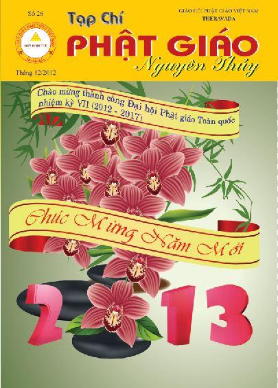 Tạp chí Phật giáo Nguyên Thủy số 26