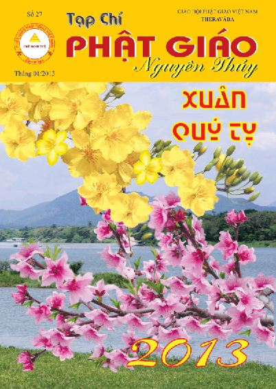 Tạp chí Phật giáo Nguyên Thủy số 27