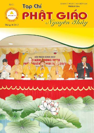 Tạp chí Phật giáo Nguyên Thủy số 31
