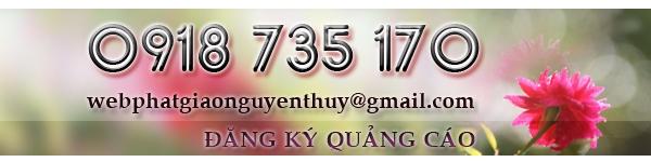Thông báo quỹ ủng hộ hoạt động cho Website phatgiaonguyenthuy.com