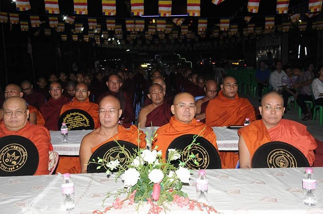 Chư Tăng Phật giáo Myanmar dự lễ