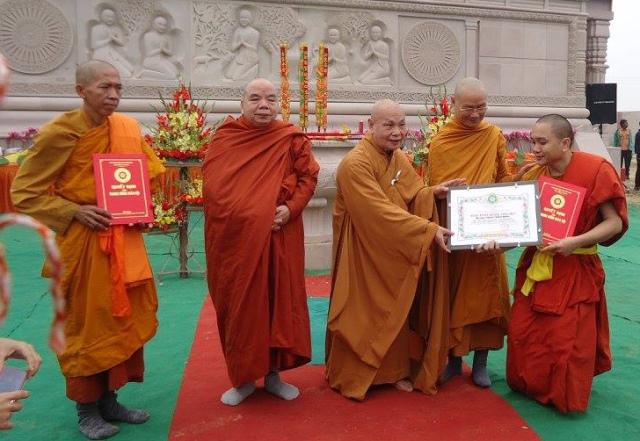 khánh thành chùa Đại Lộc-7