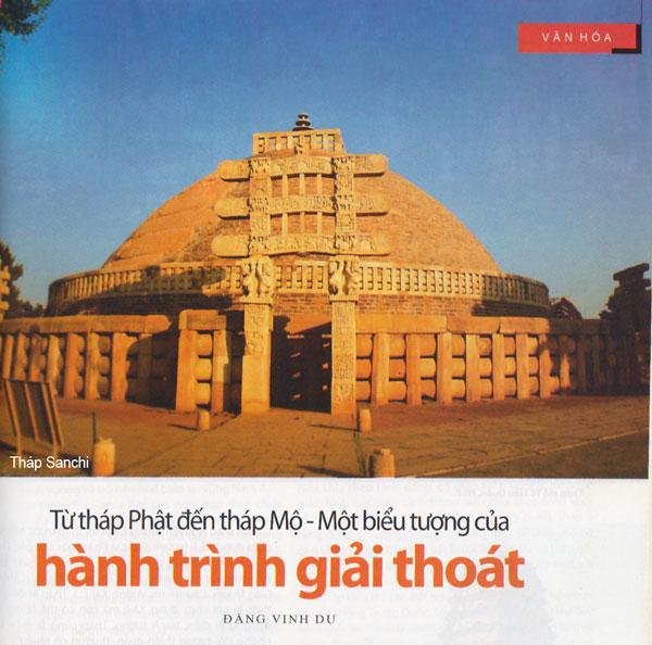 Từ tháp Phật đến tháp Mộ- Một biểu tượng của hành trình giải thoát - thap-sanchi.jpg (84498 KB)