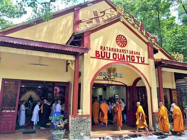 Khóa tu ngày chủ nhật (13/8/2017) tại chùa Bửu Quang