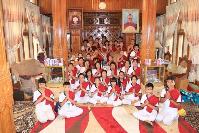 Các bạn nhỏ tại Myanmar
