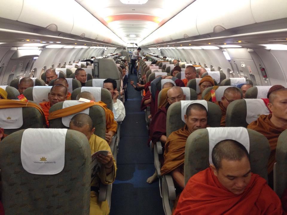 Chuyên cơ Air Vietnam VN 9285 đi Varanasi với 180 thành viên