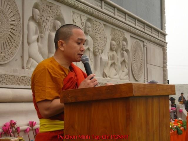 ĐĐ.TS.Thiện Minh,hậu phương vững chắc yểm trợ xây dựng chùa Đại Lộc